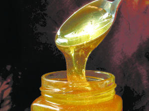 Nyslynget honning. Foto Steen Knudsen